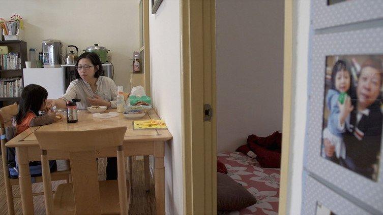 黄惠侦与自己的女儿