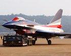 八一飞行表演队新涂装J-10静态展示
