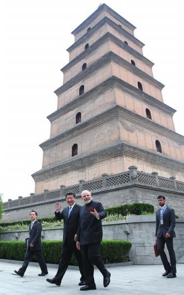 中印今日将签合作协议 莫迪赴京推广瑜伽