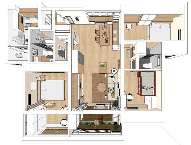 110平米,设计公司将其取名小温暖,是希望,这不仅仅是一个装修好的房子