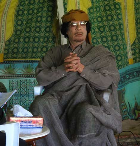 卡扎菲时代:利比亚人手一本《绿宝书》