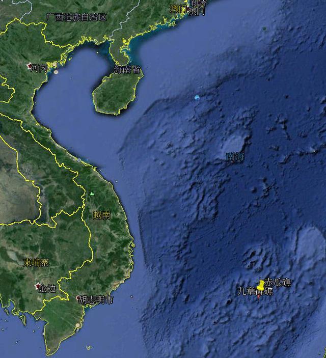 组图:中国船队在越军眼皮底下扩建赤瓜礁_新闻
