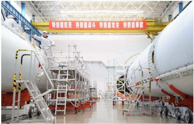 长征七号总装已完成四分之三 整箭4月底出厂