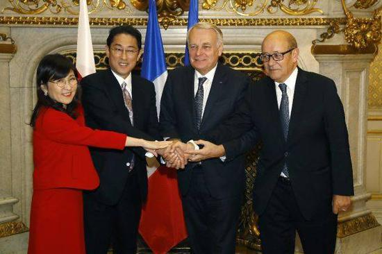 日本就南海问题又搞小动作:拉拢法国反对中国造岛
