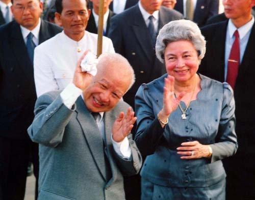 柬埔寨前国王西哈努克生平