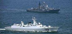 中俄联合海上军演