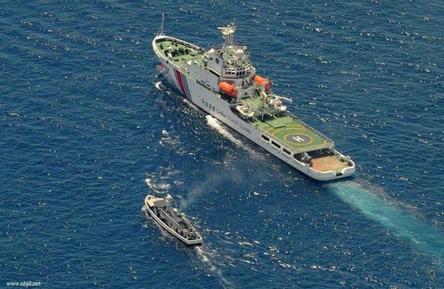 菲渔民称在九章群礁遭中国海警驱赶 菲称将采取行动
