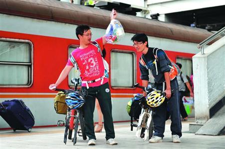今日起乘客坐火车禁止携带自行车