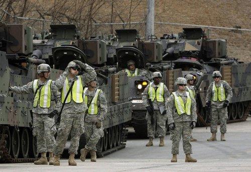 美要求德日韩三国提高驻军军费开支承担份额