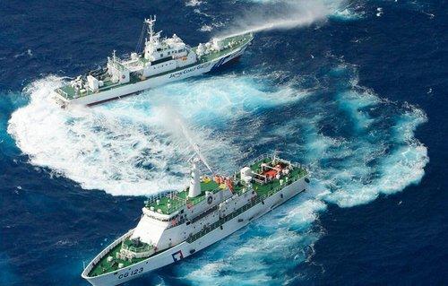 台公务船为避免两岸联合 对大陆船喊话宣誓主权