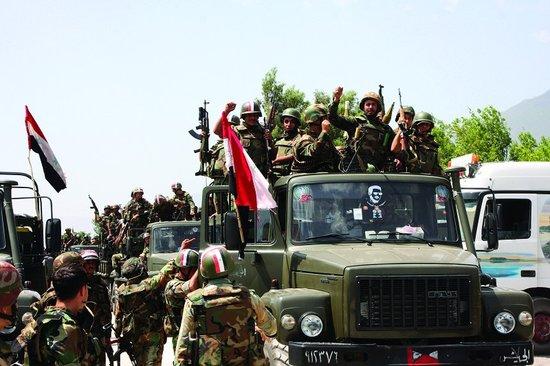 叙利亚政府军解救被反对派绑架3名本国记者