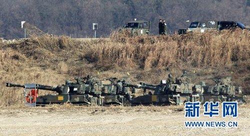 韩国军演小心示威 梁永春: 压根儿没准备打仗
