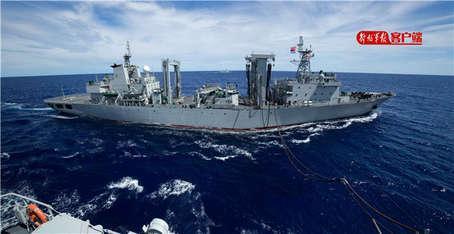 我海军西太平洋演练 美日军舰尾随