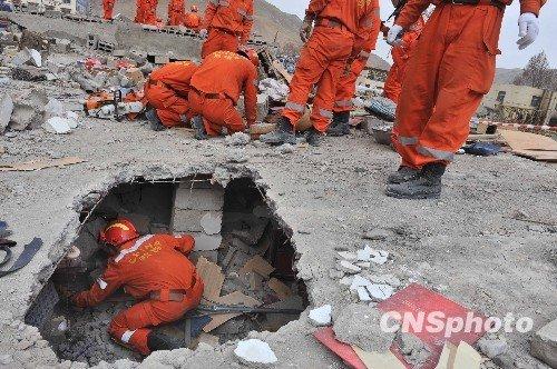 玉树地震以搜救生命为主的第一阶段救灾工作结束