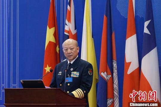 吴胜利与美海军作战部长视频通话 表严正立场