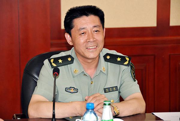 成都军区原副政委张书国调任北京军区政治部主任