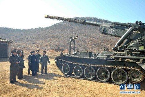分析称朝鲜主体炮可对延坪岛韩军发动毁灭打击