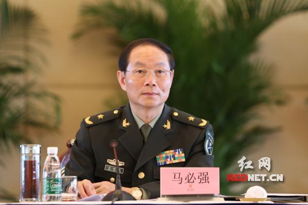 马必强少将出任南部战区陆军纪委书记