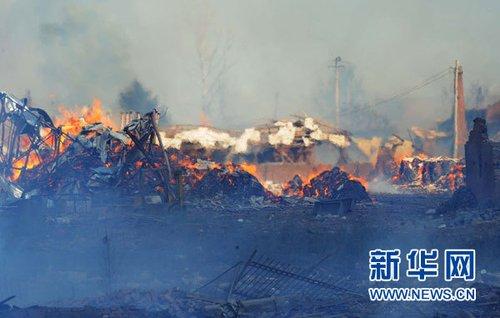 安监总局:黑龙江伊春烟花爆炸事故暴露出事发企业大量问题