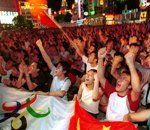 北京庆祝申奥成功