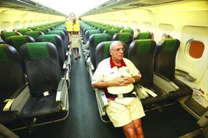 真解气: 上海至菲律宾航班只3名乘客(图)