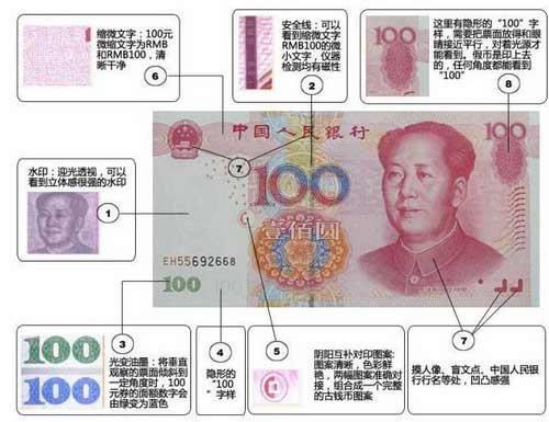 央行通报最新百元假币特征 称凭眼看手摸可识别