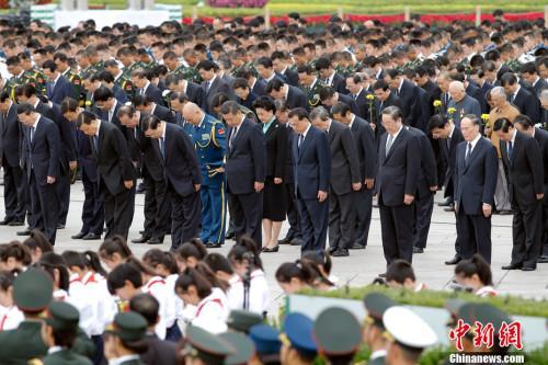 中国将开展中华英烈遗骸搜寻迁移工作图片