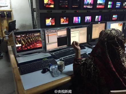 巴基斯坦电视台最高规格全程直播中国大阅兵