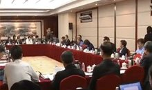 """总理谈中国经济""""硬着陆""""论"""