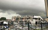 开发商毁约夺地 将4S店砸成废墟