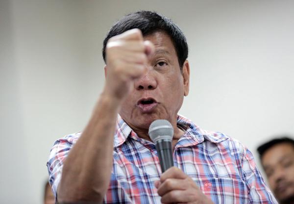 联合国批菲律宾禁毒 杜特尔特:退联跟中国搞新的