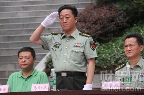 原南京政治学院政治部主任马向东简历
