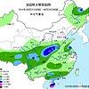 西北东南部黄淮江淮华南南部等地有较强降水