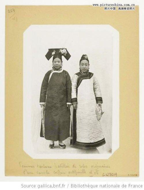 法国人收藏的清末民初老照片之美女少妇图