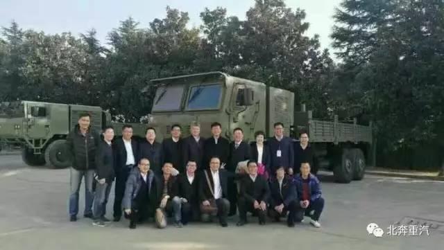 重大喜讯——北奔重汽三代军车成功入围