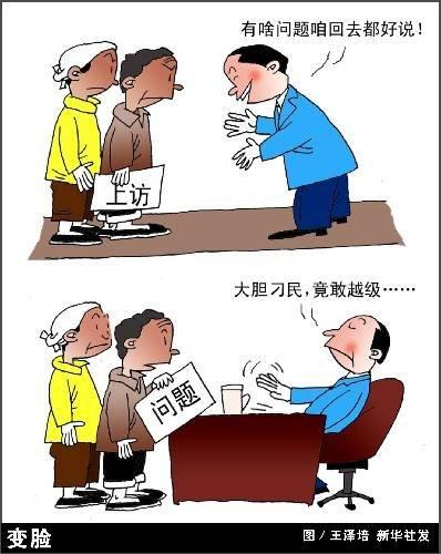 2009年中国人权白皮书:信访总量连降5年