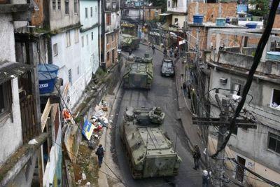 巴西黑帮火并持续一周,政府出动军队平息