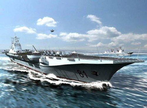 汉和:中国首艘航母将装备24架歼15舰载机(图)