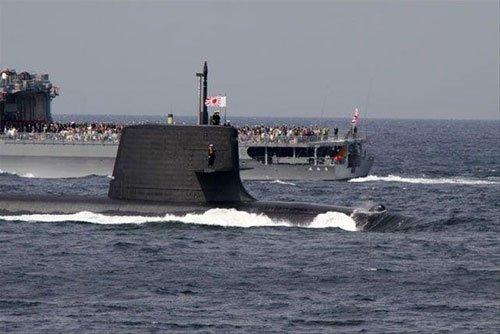 中日韩三国海军大对比:中国潜艇量多质差(图)