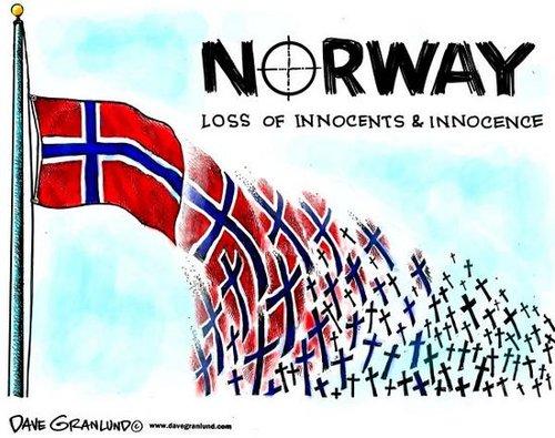 袭击事件严重冲击挪威社会 挪威各界自我反思