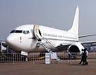 波音BBJ喷气式商务机静态展示