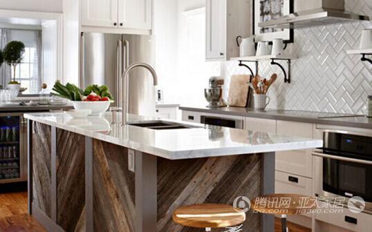 个性岛台 创意厨房装修设计