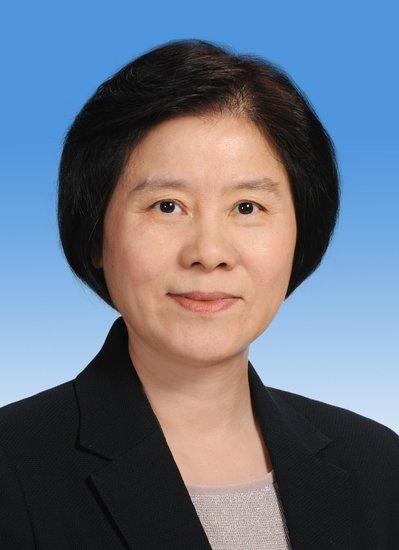 沈跃跃当选为十二届全国人大常委会副委员长