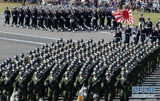 解密日本自卫队:实力亚洲领先 25万人仅作种子