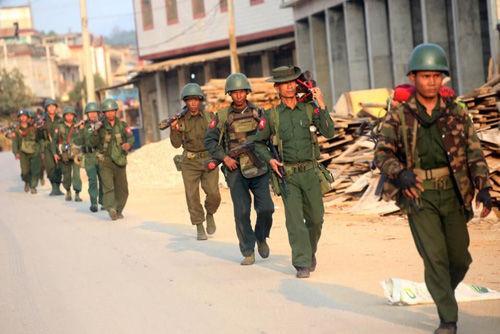 法媒:缅甸果敢冲突已致130人亡 暂无停火迹象