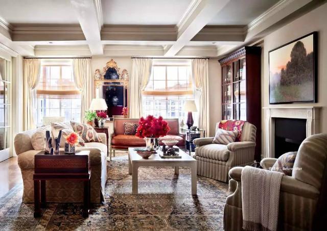 11个名人的客厅,品味不凡的明星家居