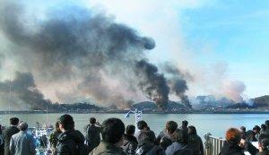朝韩边界起硝烟
