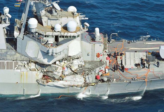环球时报:撞伤美军宙斯盾舰的幸亏不是中俄商船