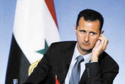 """巴沙尔否认叙利亚陷内战 称只是""""反恐战争"""""""