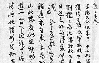 李大钊参加西湖会议前给胡适的信